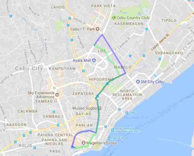Ride a Jeepney in Cebu and its Travel Routes Code 03L Destination Mabolo Colon Ayala Sm Map Best of Philippines 2018