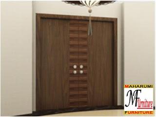 workshop custom setting interior furniture - Setting Pintu - Maharumi Furniture