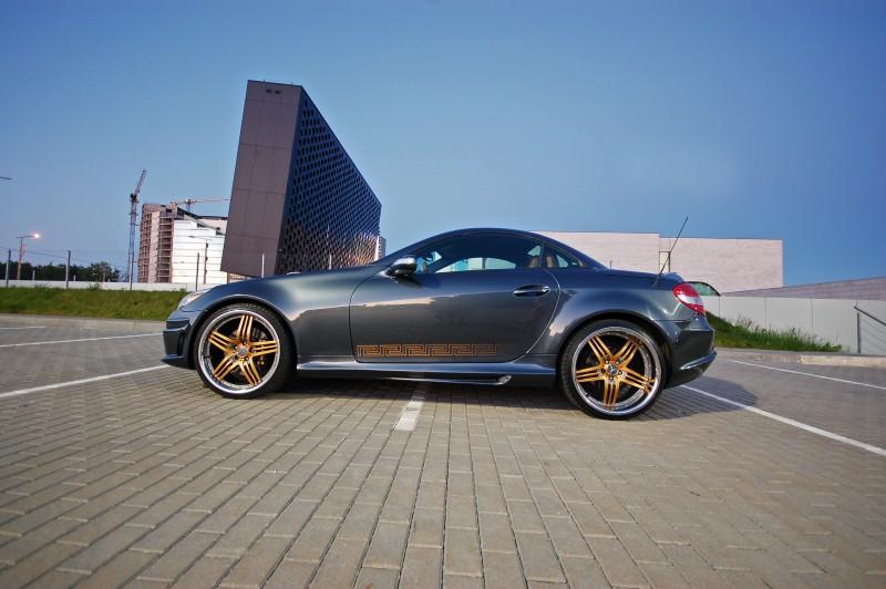 Elite Motor Cars: Mercedes SLK Versace By Elite Motors