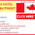 RECRUITMENT TO CANADA - HOTEL INDUSTRY
