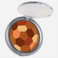powder palette multi colored face powder