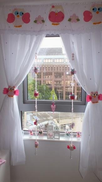 Muebles y decoraci n de interiores decoraci n con - Hacer cortinas infantiles ...