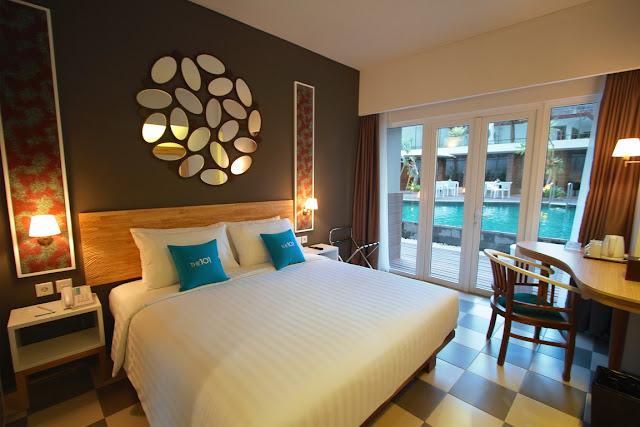 5 Tips Cermat dan Hemat Memilih Hotel Saat Liburan - Salah satu Kamar Tidur Hotel 101 Yogyakarta
