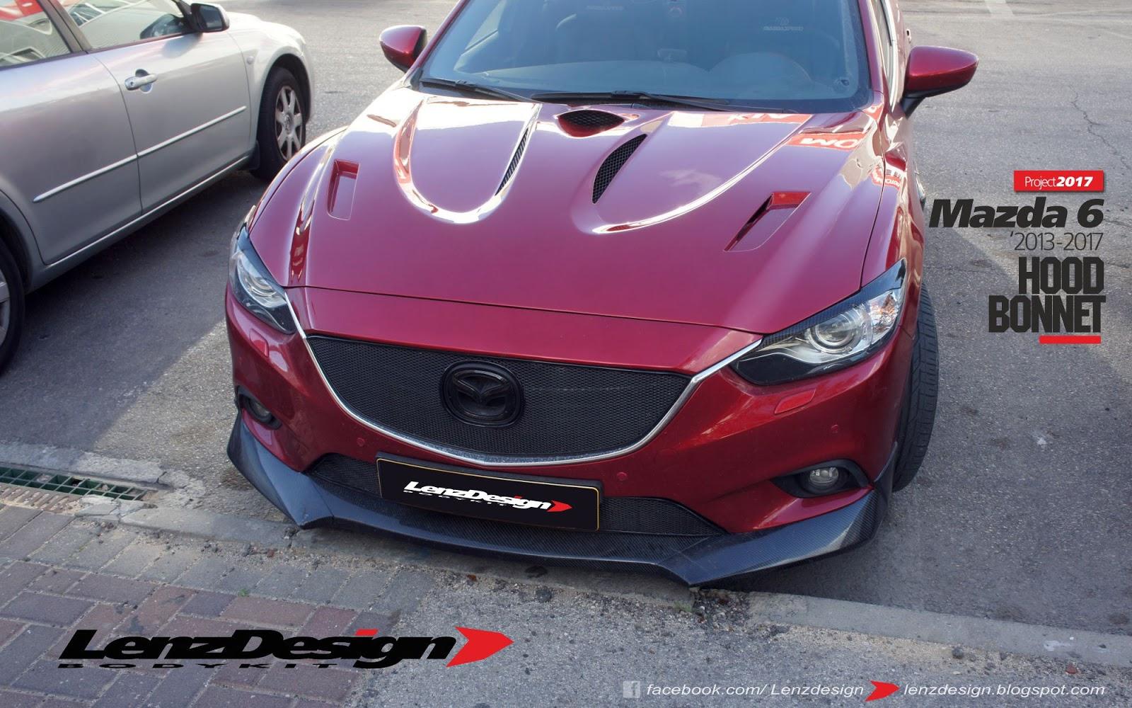Mazda Mazda6: Hood