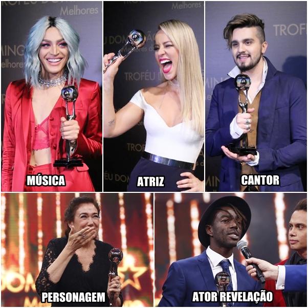 Melhores do Ano vencedores 2017