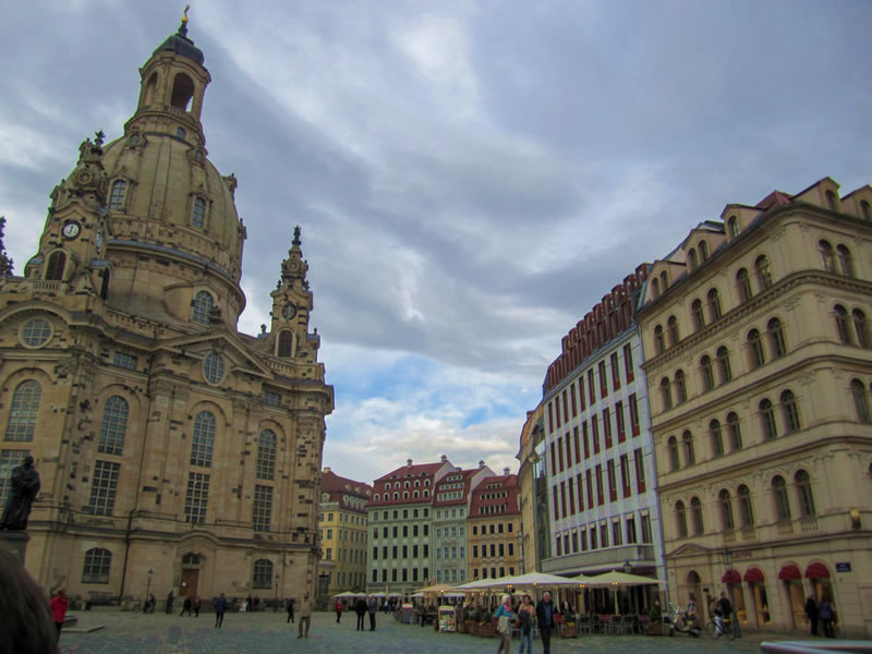 Frauenkirche the Church of Our Lady and Neumarkt