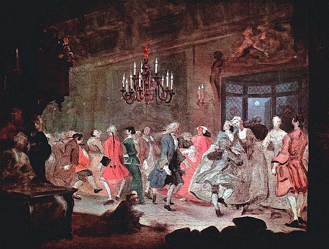 William Hogarth social dance
