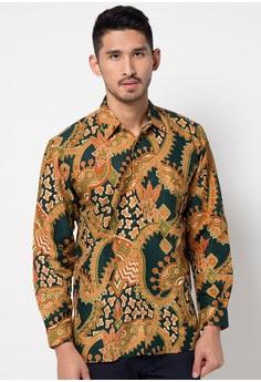 Model Baju Batik Pria Semar Lengan Panjang Terbaru