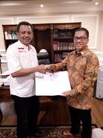 DPP PAN Resmi Rekomendasikan Paket Lutfi-Feri di Pilkada Kota Bima 2018