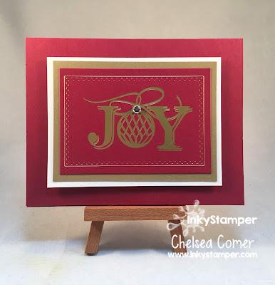 FSJ and Spellbinder Christmas Card using the Glimmer Machine