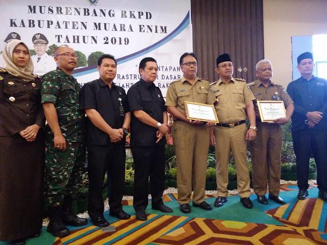 Wabup Muaraenim Buka Musrenbang RKPD tahun 2020