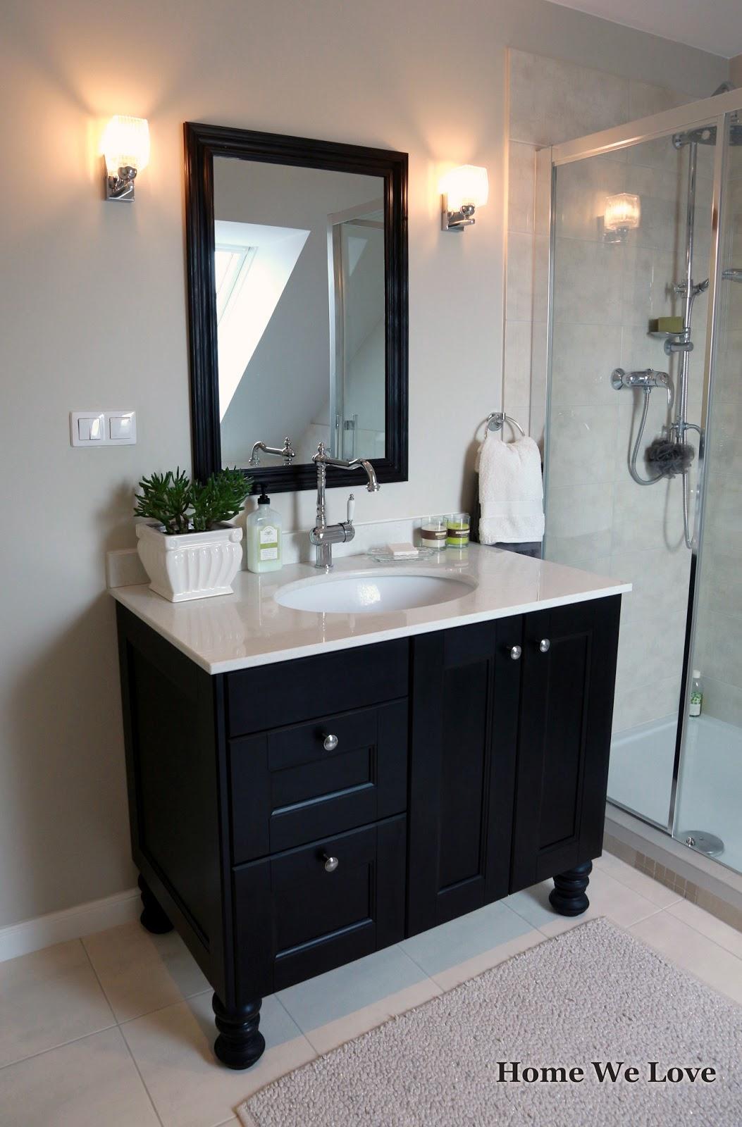 Home We Love Stylowe Szafki łazienkowe Z Szafek Kuchennych Ikea Ikea Faktum Cabinets Made