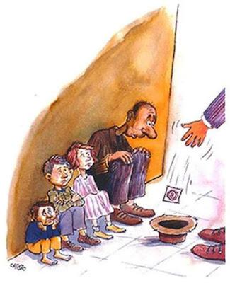 comic, pobre, familia, condón
