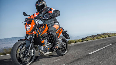 New KTM 690 on road image