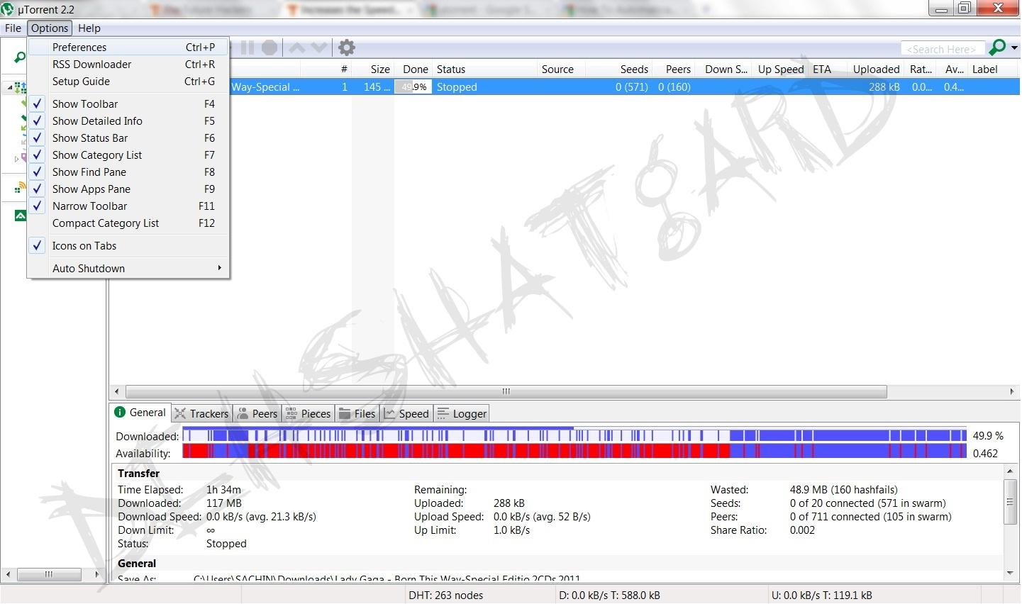 Increasing Download Speed In Utorrent Download