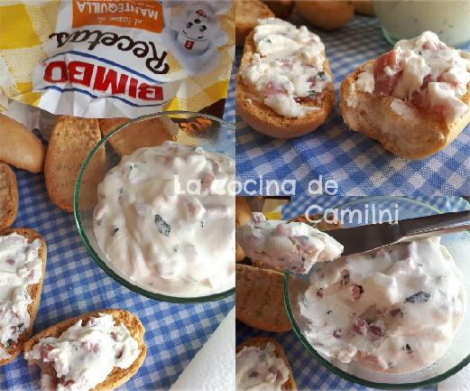 Dip de crema de bacon (La cocina de Camilni)