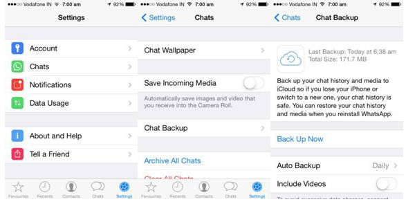 how to backup whatsapp onlinestart to back up whatsapp onlinetransfer whatsapp on iphone