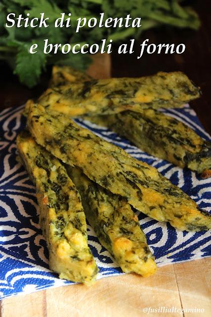 stick di polenta con i broccoli