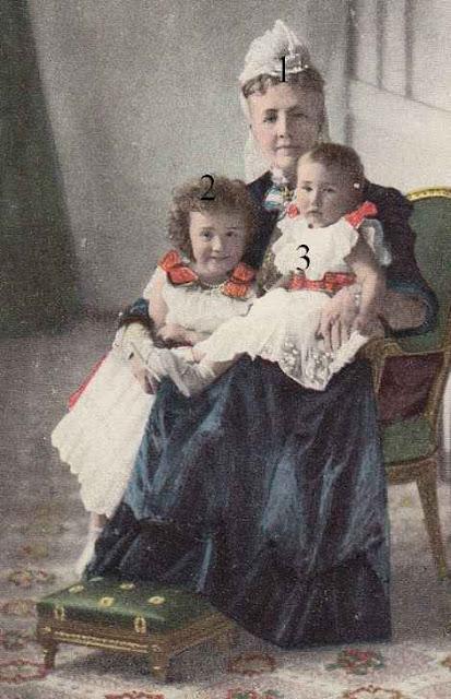 Drottning Sofia Prinsessan Margaretha Sofia Lovisa Ingeborg av Sverige, prinsessan Märtha Sophia Lovisa Dagmar Thyra av Sverige