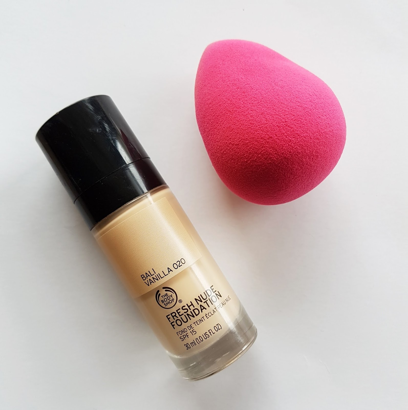 Colour care foundation - The Foundation Files The Body Shop Fresh Nude Foundation
