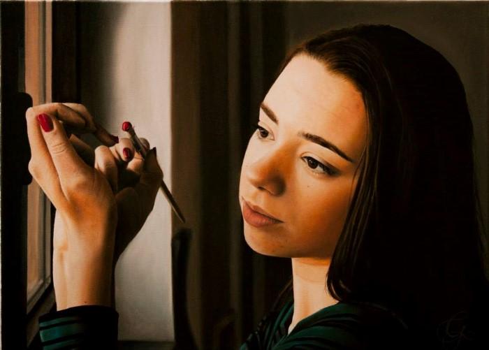 Хорватский художник. Mato Granic