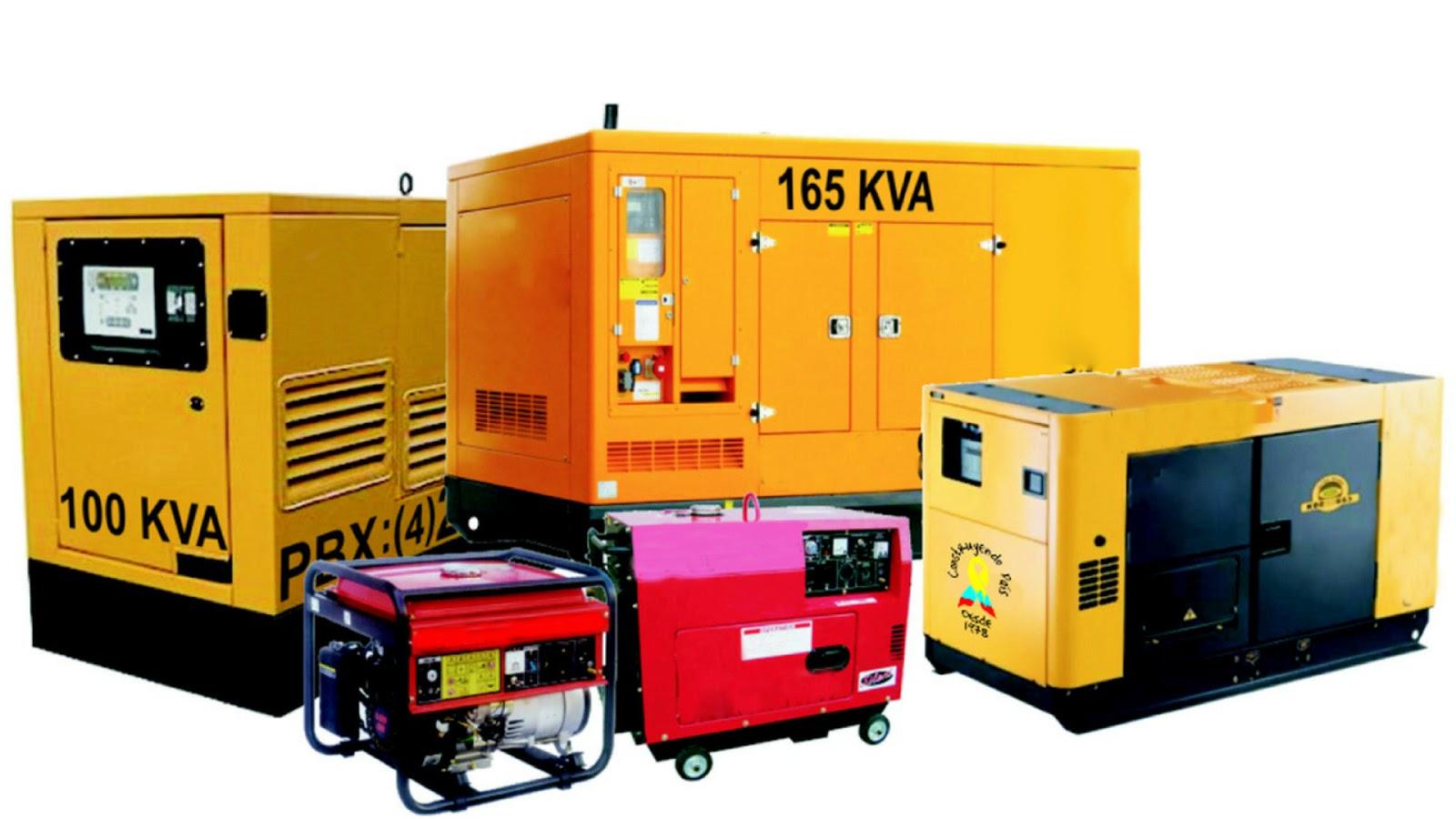 Generadores eléctricos diesel