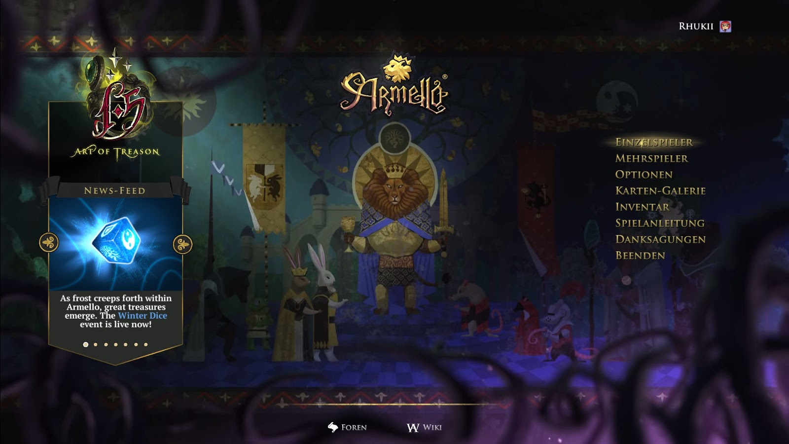 Game Review Armello