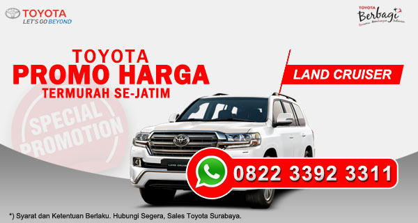 Promo Harga Toyota Land Cruiser Surabaya