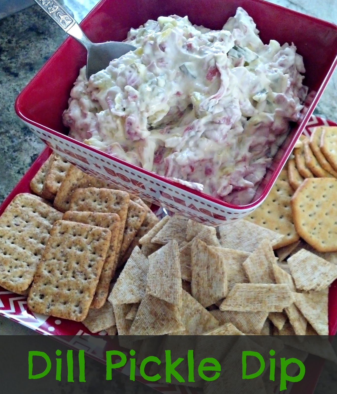 Dill Pickle Dip: Crazylou: Awesome Dill Pickle Dip