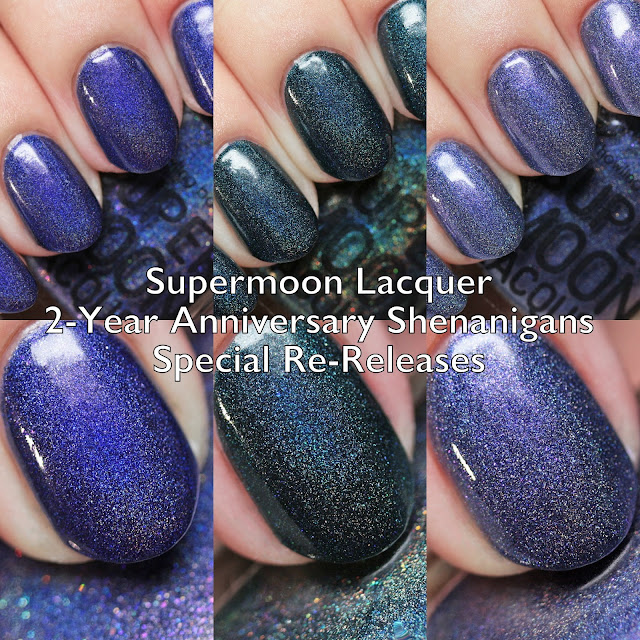 Supermoon Lacquer 2-Year Anniversary Shenanigans