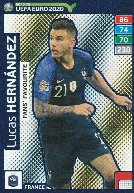 Camino a euro 2020 Panini Adrenalyn XL Multipack Szczesny Griezmann Fraser