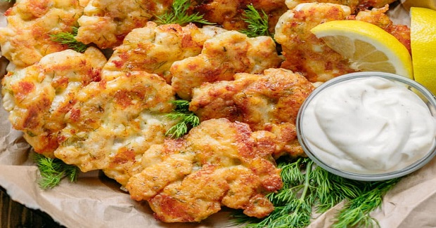 Tender Chicken Fritters Recipe