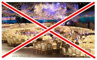 Resepsi Pernikahan Unik Siklikal.com