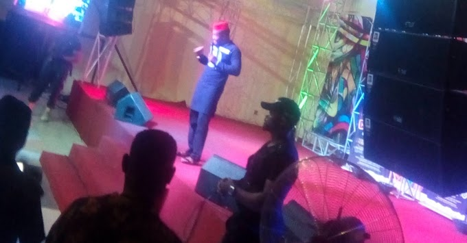 """Few Photos From the Just Concluded """"Crack Ya Ribs with Julius Agwu"""" in Kaduna"""