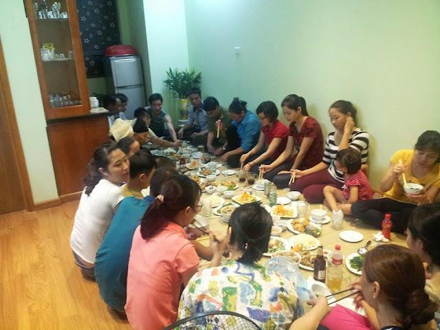 Dịch vụ nấu cỗ ở Ba Đình