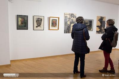 Sükösd Ferenc festőművész kiállítása az Erdélyi Művészeti Központban