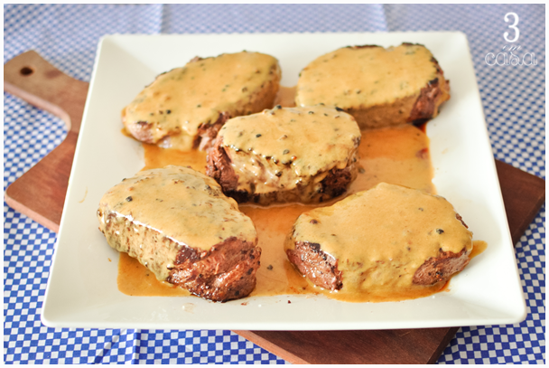 steak au poivre receita
