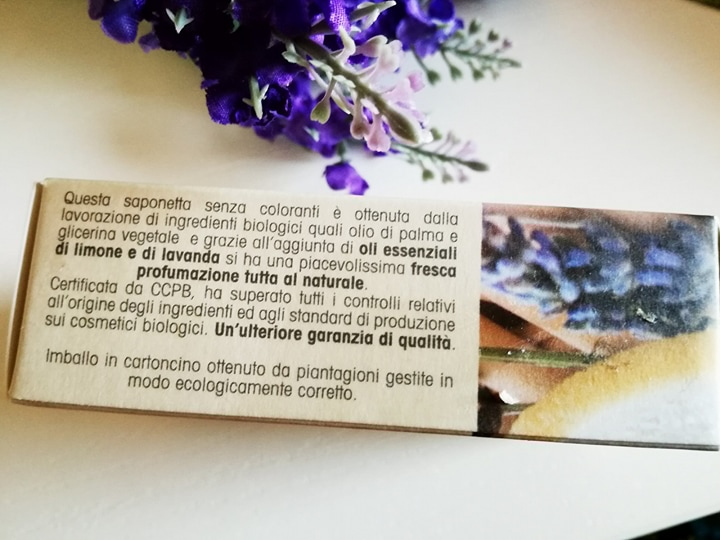 saponetta biologica e vegetale white castle