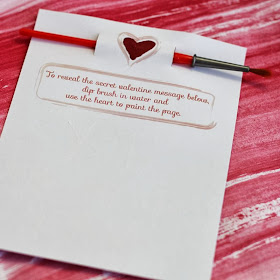 Secret Message Valentine from Small + Friendly