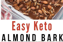 Keto Easy Almond Bark Recipe