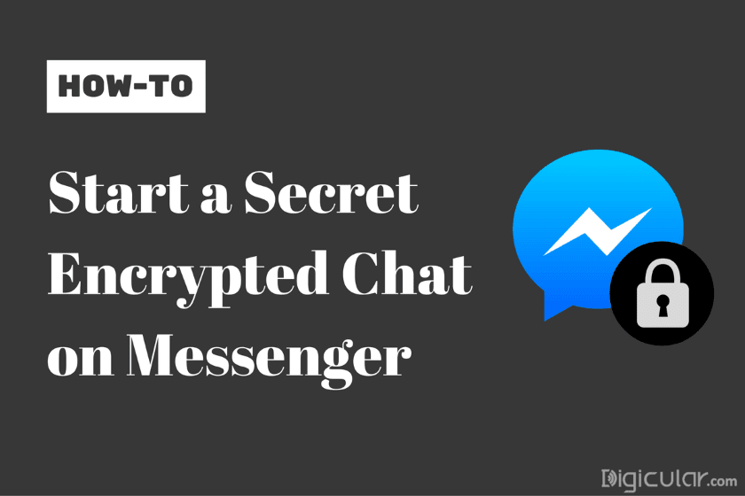 Secret Chat End to end encrypted - Facebook messenger
