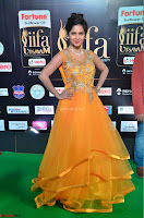 Keerthi in Orange Anarkali Dress at IIFA Utsavam Awards 2017  Day 2  02.JPG