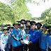 Tân Hưng Tây: Tỉnh đoàn Cà Mau thăm và tặng quà sinh viên tham gia chiế dịch TNTN hè tại đơn vị xã Tân Hưng Tây