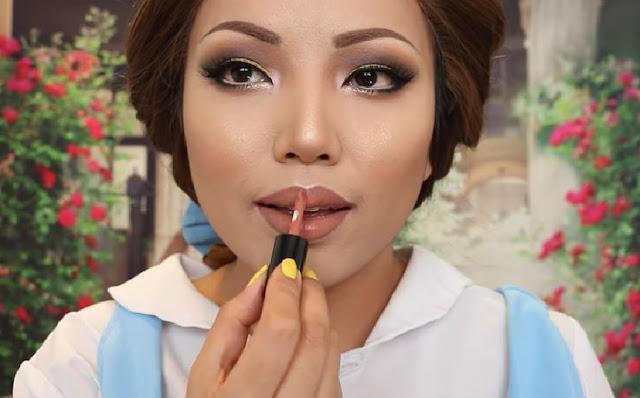 maquillaje de Belle
