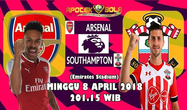 Prediksi Arsenal vs Southampton 8 April 2018