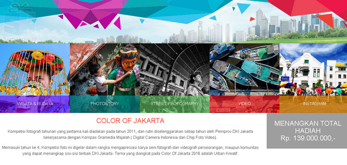 Urban Kreatif - Color Of Jakarta 2016 Photo Contest