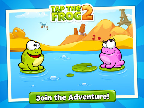 Tap the Frog game for iphone