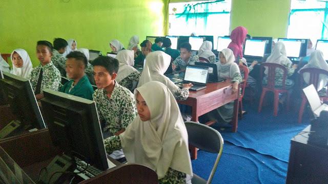 UNBK Madrasah Aliyah Nurul Huda Tahun Ajaran 2016/2017