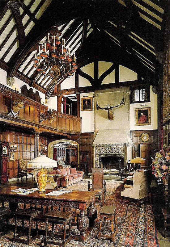 English Tudor Interior Design Ideas: The Absent-Minded Buccaneer: Stan Hywet Hall