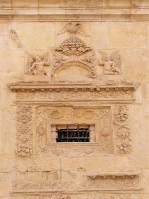 Monasterio de Uclés, detalle ventana